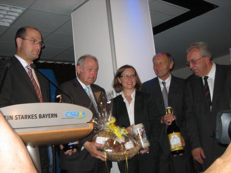 2008 – Mein erster Landtagswahlkampf