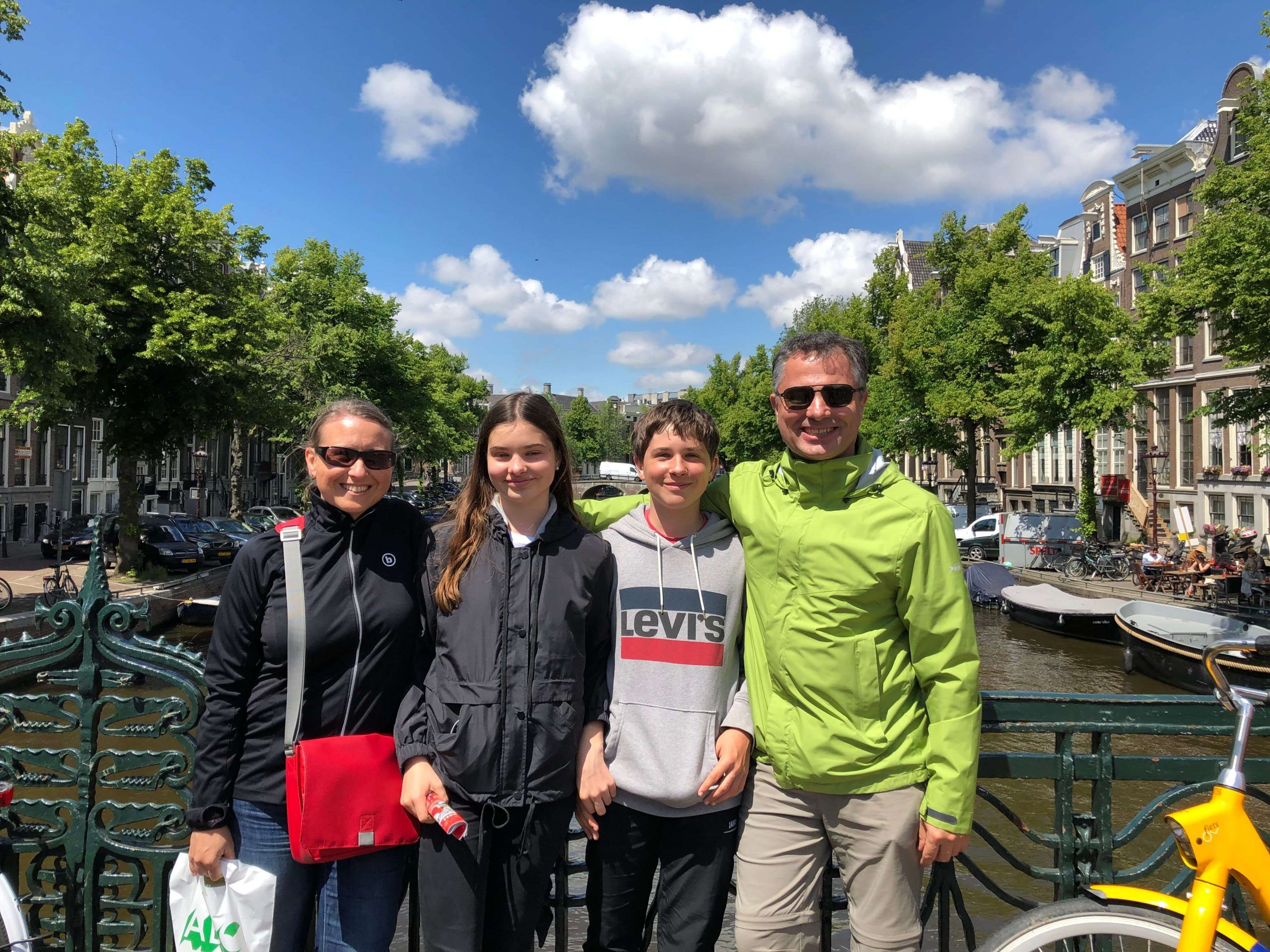 Familie Hierl in Amsterdam