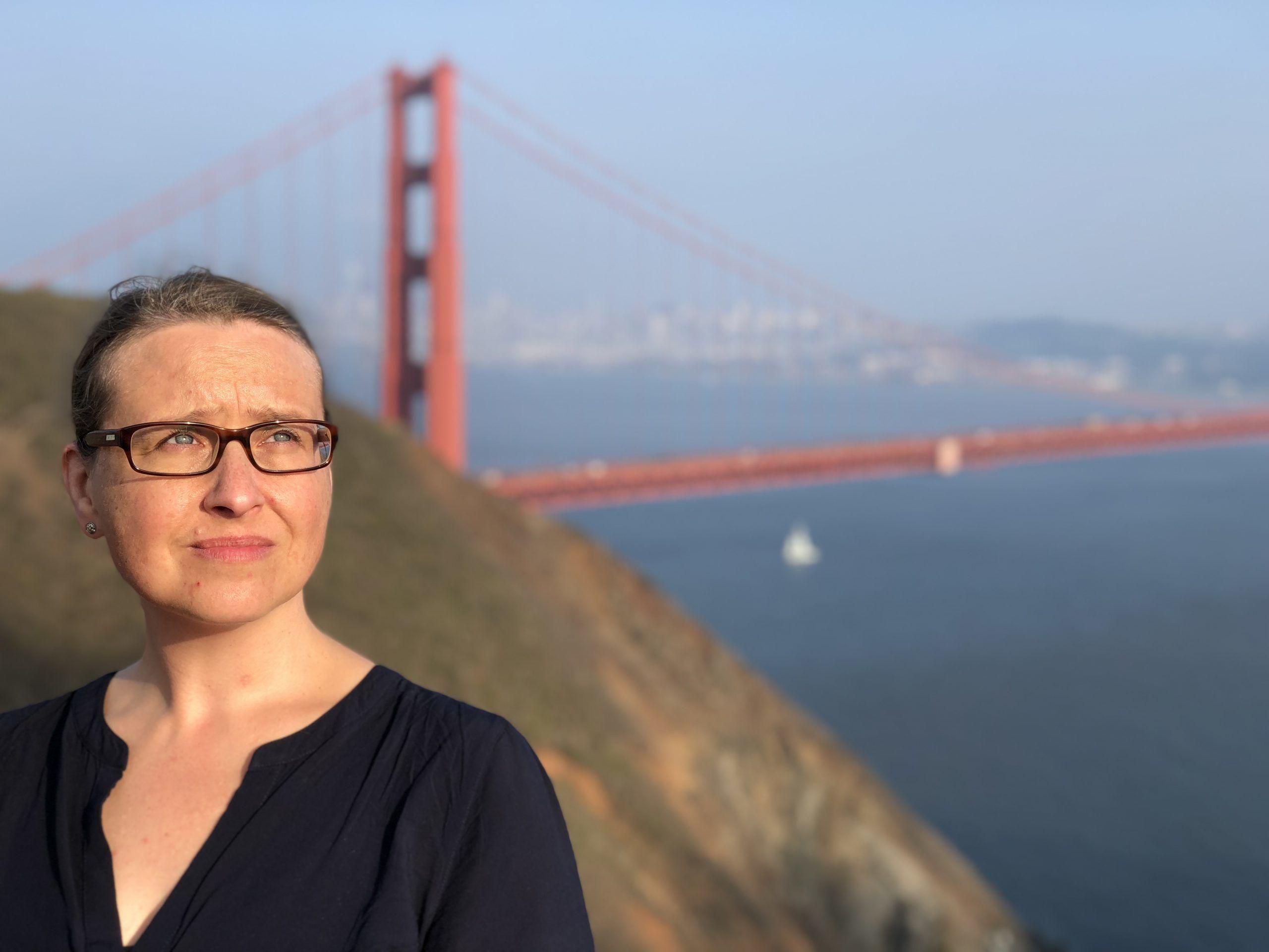 Susanne Hierl in San Francisco