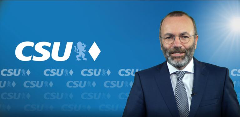 Manfred Weber Für Susanne Hierl