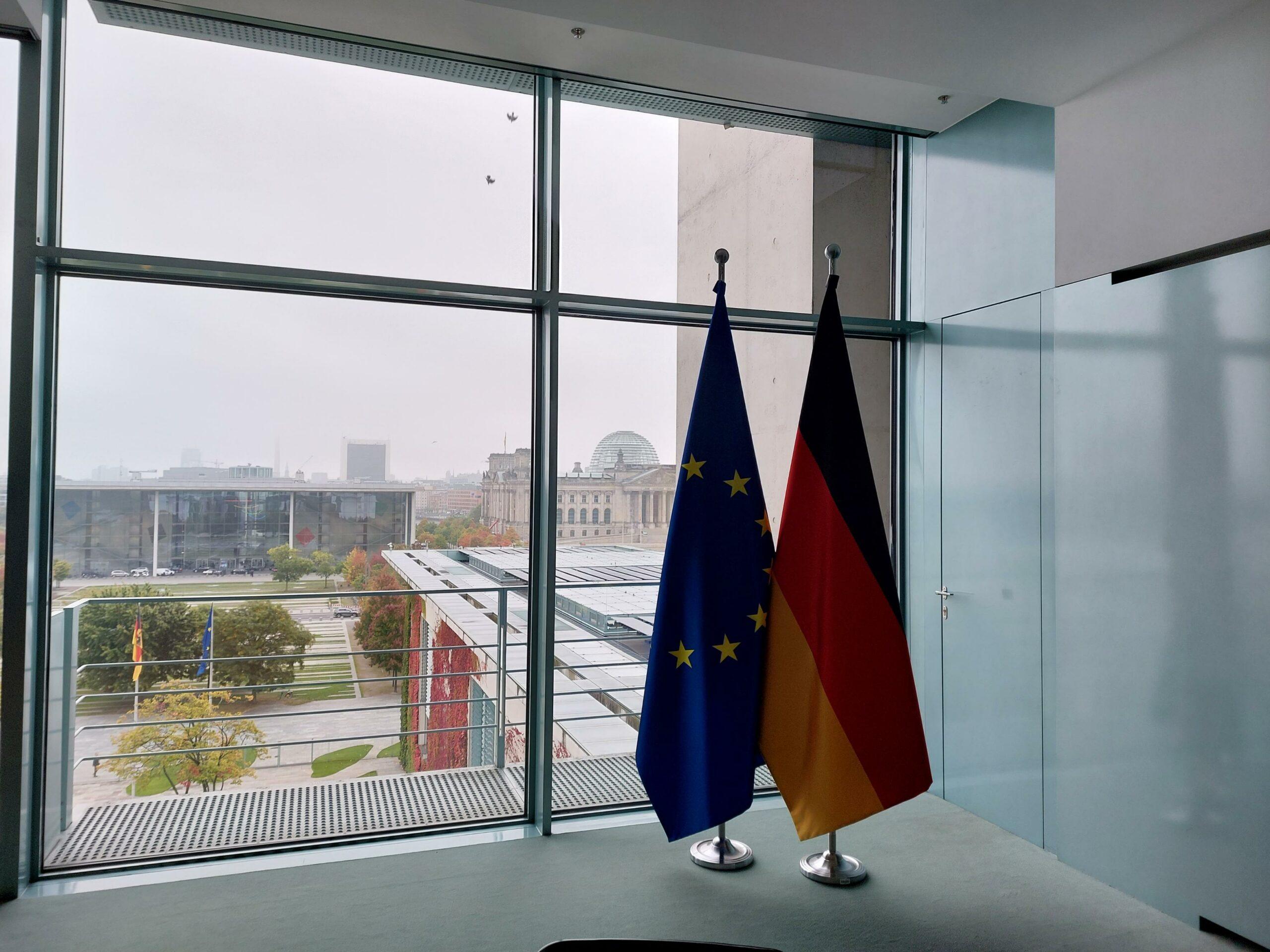 Berlin Blick auf Reichstag